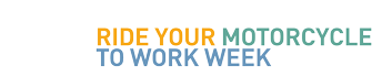 Ride To Work Week logo