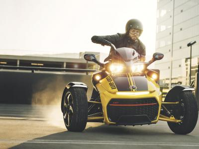 Can-Am Spyder F3 S Yellow